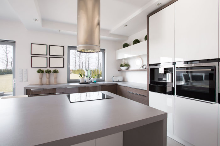 38335577 - bright beauty kitchen interior in modern design